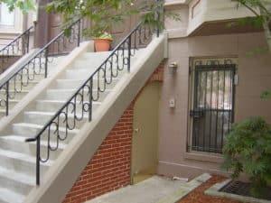 resurfaçage escalier béton